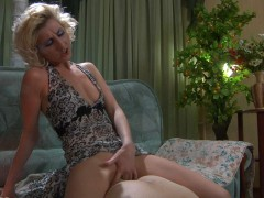 With a rigid strapon dildo in her hands, Madeleine takes on Jack and that means his tight helpless butt is about to get worked on.  On the sofa he moans and whines as she keeps slamming that bunghole and she doesn\'t stop until she\'s thoroughly plundered that ravaged raw rectum of her victim.video